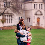 Family hug at Hartwood Acres, North of Pittsburgh